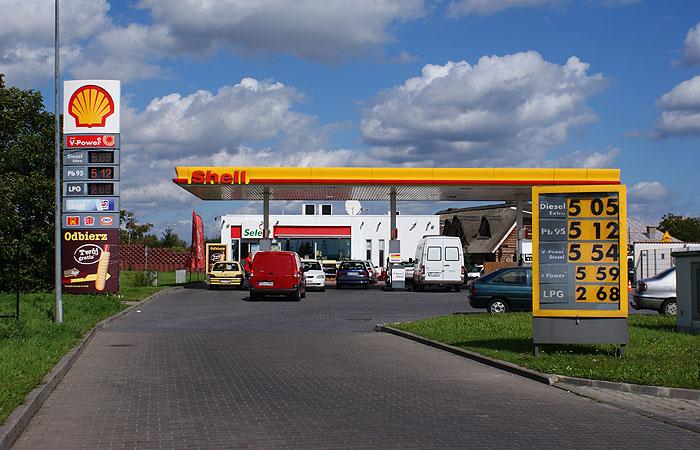 ford samochod stacje paliw shell